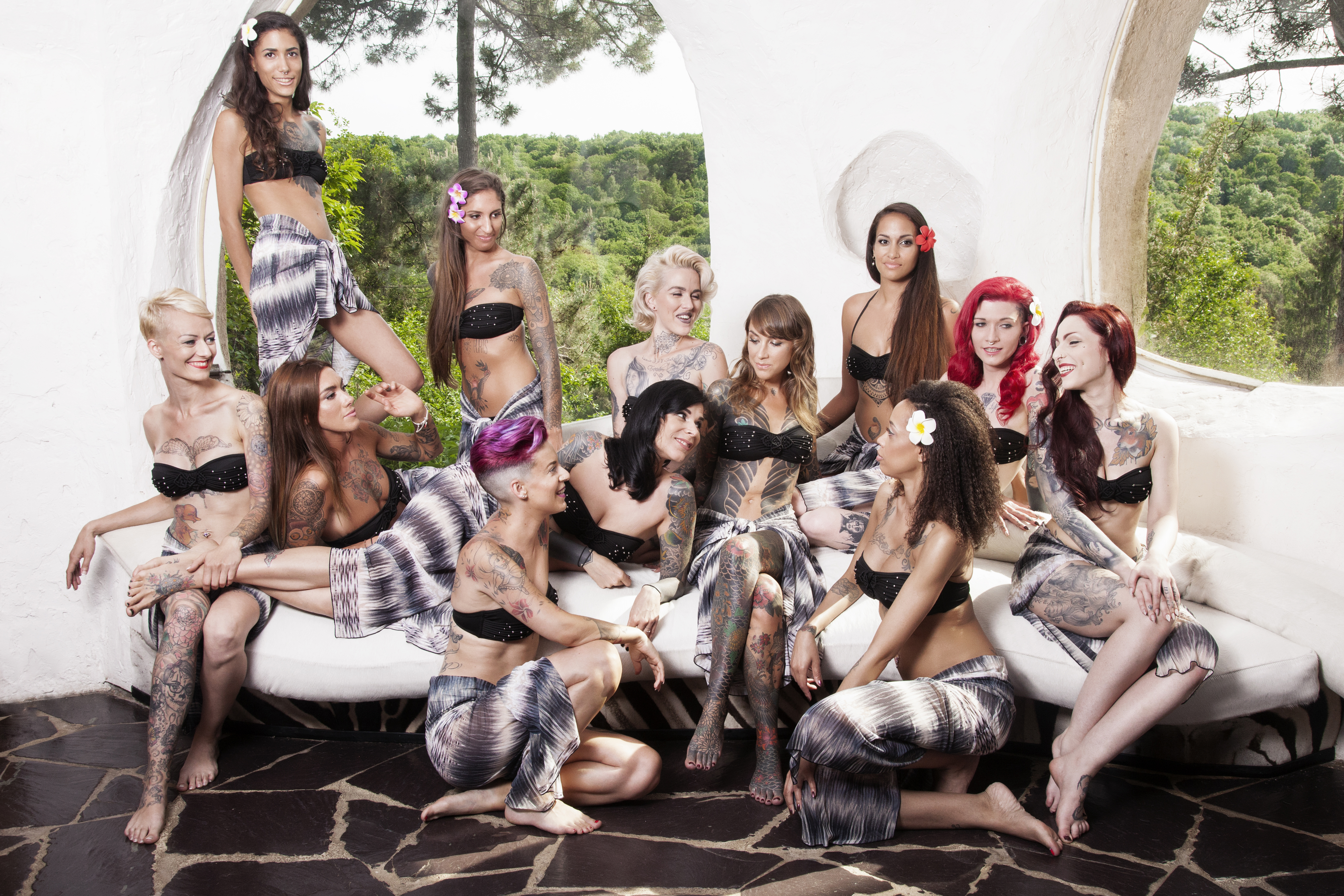 PHOTO OFFICIELLE MISS TATTOO FRANCE 2017