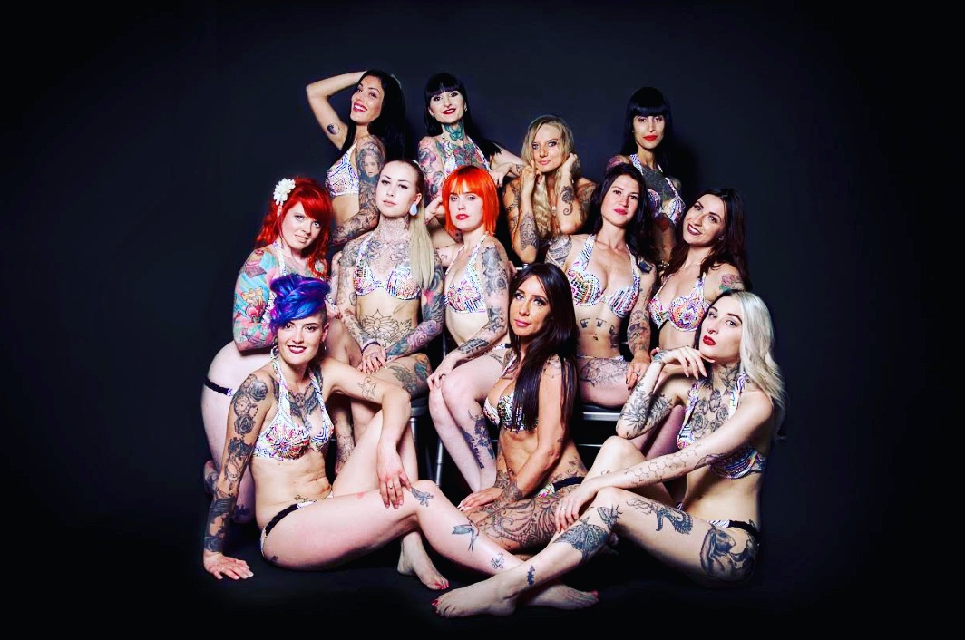 PHOTO OFFICIELLE MISS TATTOO FRANCE 2018